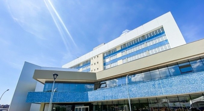 Hospital foi inaugurado em maio de 2020