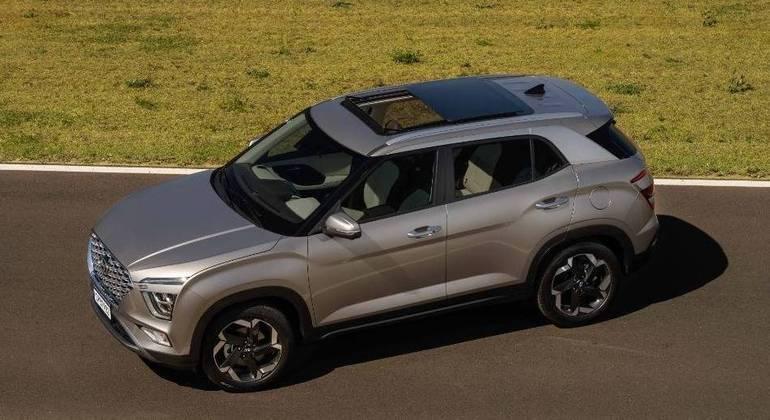 SUV compacto terá teto solar panorâmico