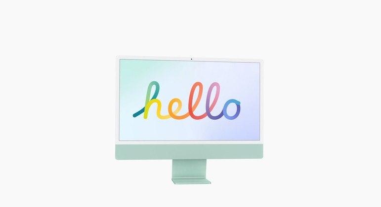 Apple apresentou novo iMac em seu primeiro evento de 2021