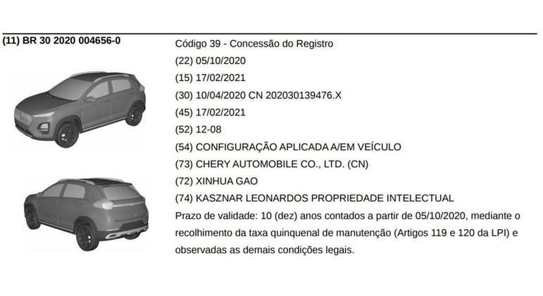 Modelo terá motor 1.0 turboflex, com cerca de 120 cv
