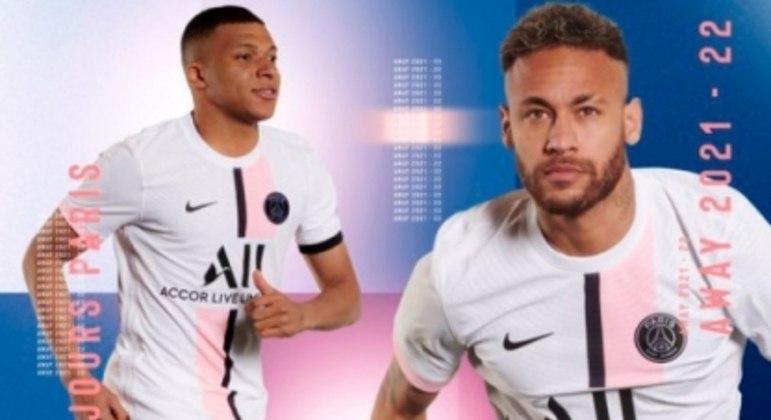 Novo uniforme PSG 2021/2022