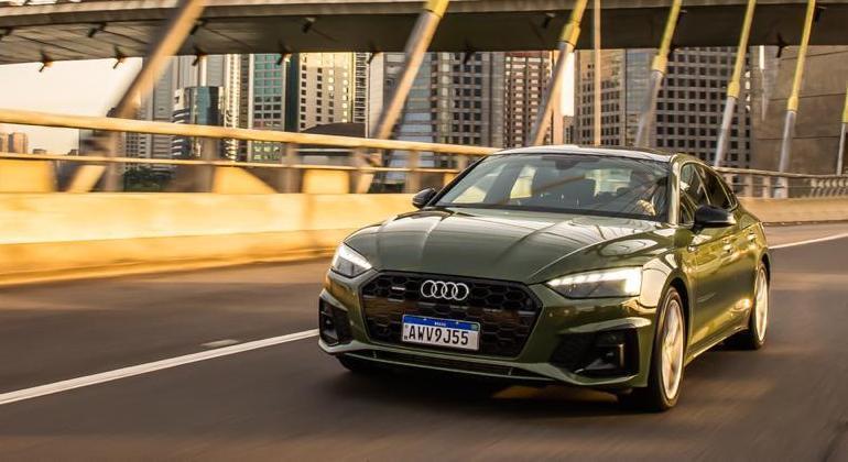 Audi A5 Sportback é vendido por R$ 284,9 mil na versão Prestige Plus