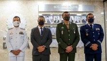 Braga Netto anuncia novos comandantes das Forças Armadas