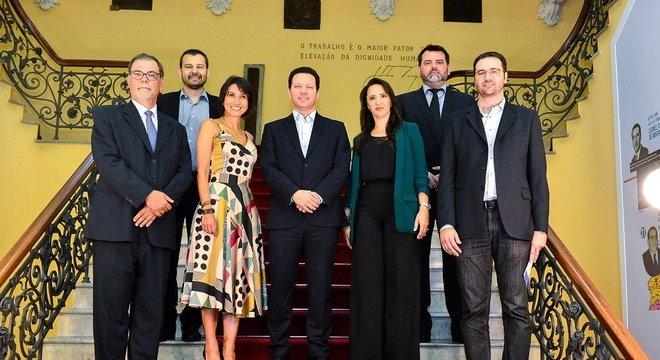Novos secretários tomam posse na Prefeitura de Porto Alegre Crédito: Eduardo Beleske / PMPA / CP
