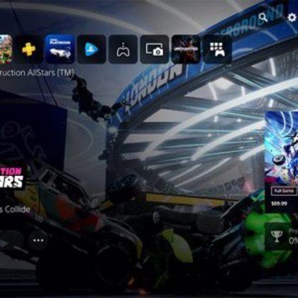 Novos vídeos da interface gráfica do PlayStation 5 aparecem na internet