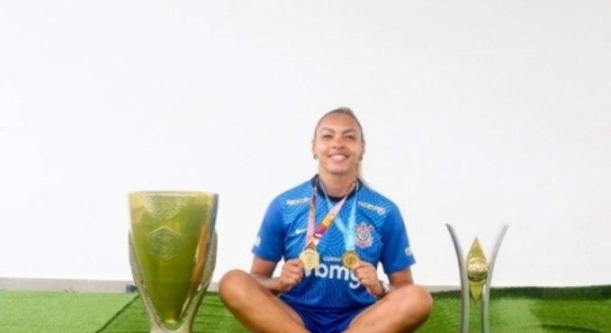 Taty defendia o rival paulista desde 2019