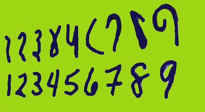 Representação numérica indiana do século 9 já era muito similar à que utilizamos atualmente em boa parte do mundo