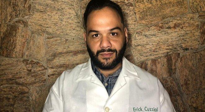 """Erick Cuzziol passou a adotar o nome """"Nutricionista Gordo"""" após receber diversas críticas em razão de seu peso"""
