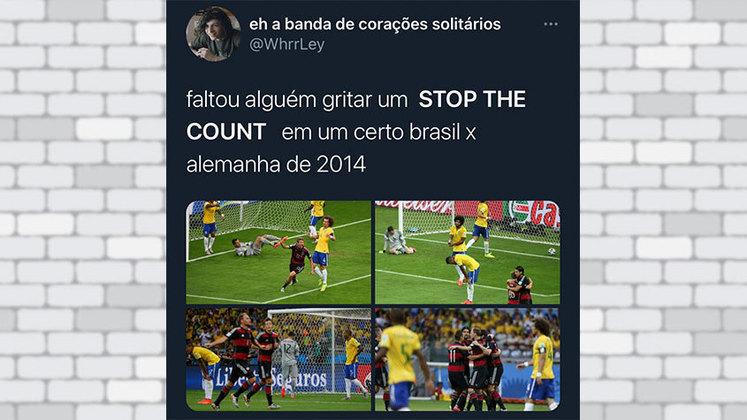 O 7 a 1 do Brasil sobre a Alemanha foi o episódio mais lembrado