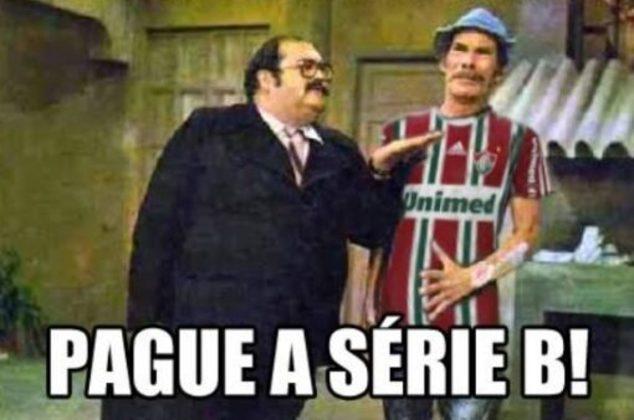 O acesso direto do Fluminense da Série B em 1999 para Série A em 2000 gera provocações dos rivais até hoje. Segundo eles, o Tricolor tem que pagar a Série B