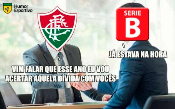 O acesso direto do Fluminense da Série C em 1999 para Série A em 2000 gera provocações dos rivais até hoje. Segundo eles, o Tricolor tem que pagar a Série B