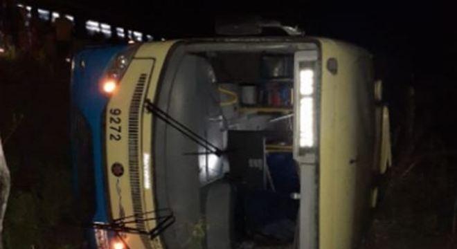 O acidente aconteceu na noite dessa terça-feira (28), no bairro de Tiuma
