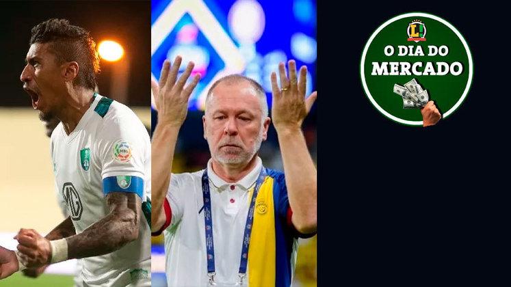 O Al-Ahli, da Arábia Saudita, rescindiu o contrato do volante Paulinho após dois meses da contratação. O técnico Mano Menezes foi demitido do Al-Nassr, também da Arábia Saudita, com apenas 11 partidas no comando do clube. Veja isso e muito mais no Resumo do Mercado do final de semana.