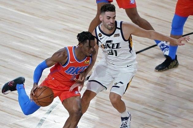 O ala-armador Shai Gilgeous-Alexander (Oklahoma City Thunder) foi um dos grandes nomes no triunfo sobre o Utah Jazz. Gilgeous-Alexander, um dos jogadores mais subestimados da NBA na atualidade, anotou 19 pontos, distribuiu seis assistências e roubou três bolas em 32 minutos de ação