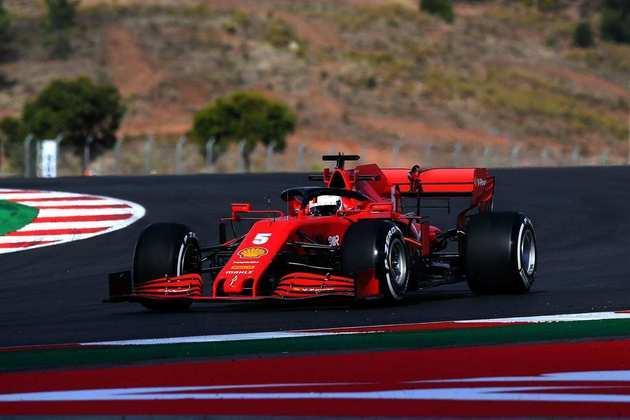 O alemão mostrou bom rendimento, mas ficou atrás do companheiro de equipe, Charles Leclerc