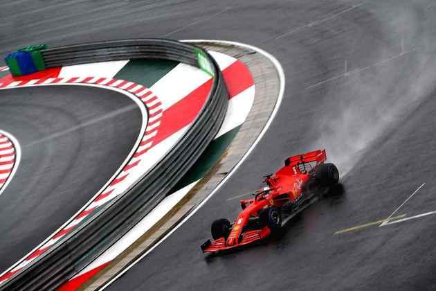 O alemão voltou a mostrar bom desempenho na pista molhada após o fiasco no GP da Estíria