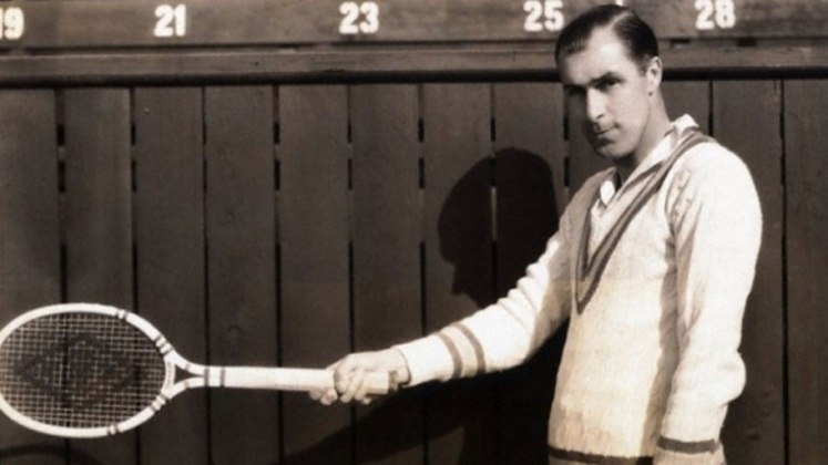 O americano Bill Tilden encerrou a carreira com dez títulos de Grand Slam