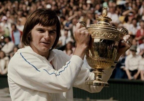 O americano Jimmy Connors também conquistou oito títulos de Grand Slam