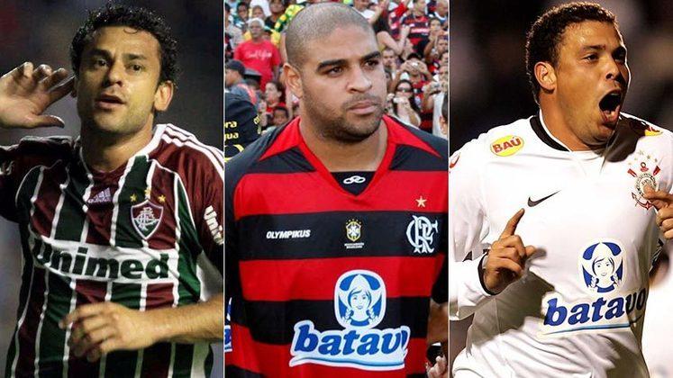 O ano de 2010 foi histórico para o futebol brasileiro, com muitos jogadores de destaque atuando por aqui. E os uniformes dos principais clubes, como eram? Relembre a seguir: