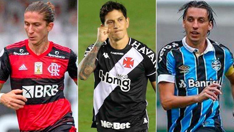 O ano de 2021 começou e vários jogadores do futebol brasileiro entraram no último ano de contrato. Dependendo do desempenho nesta temporada, os atletas podem receber propostas de renovação ou mudar de clube. Confira na galeria quem são eles: