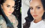 Mas a mudança de aparência das gêmeas não demorou a causar polêmica. Alguns seguidores criticaram o excesso de cirurgias plásticas realizados pela dupla