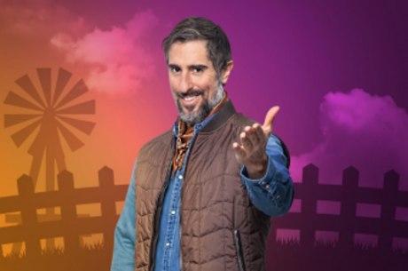 """O apresentador da """"Fazenda"""",  Marcos Mion"""