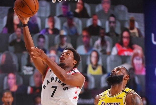 O armador Kyle Lowry (Toronto Raptors) foi o grande nome da partida diante do Los Angeles Lakers. Presente nas últimas seis edições do Jogo das Estrelas, Lowry fez 33 pontos, pegou 14 rebotes e distribuiu seis assistências. Nos arremessos de três, ele conectou cinco das nove tentativas