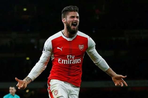 O artilheiro francês ganhou o prêmio de 2017 por um golaço que marcou pelo Arsenal em jogo contra o Crystal Palace pela Premier League.
