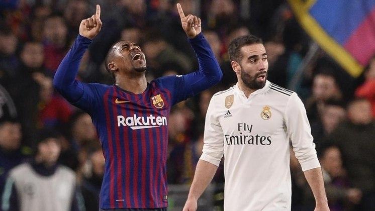 O atacante brasileiro Malcom foi comprado por 41 milhões de euros, em 2018, após sucesso no Bordeaux.