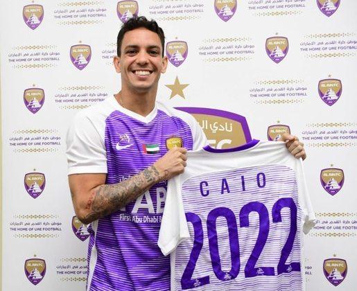 O atacante Caio, talismã do Botafogo no título carioca de 2010, veste a camisa do Al-Ain, time do Emirados Árabes, desde 2019.