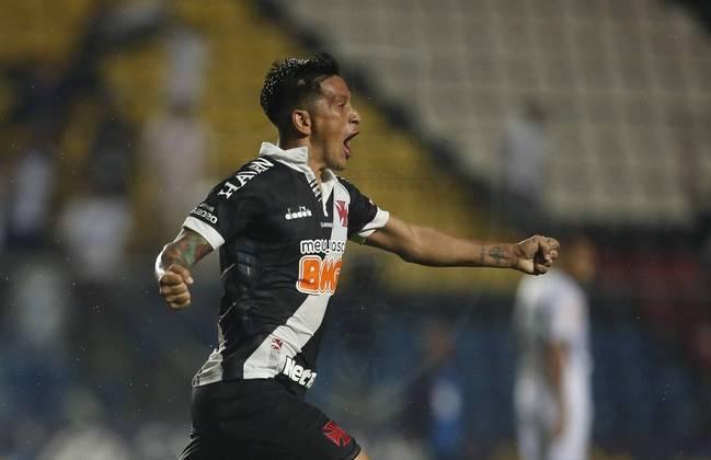 O atacante Germán Cano publicou uma foto após treinar e pediu