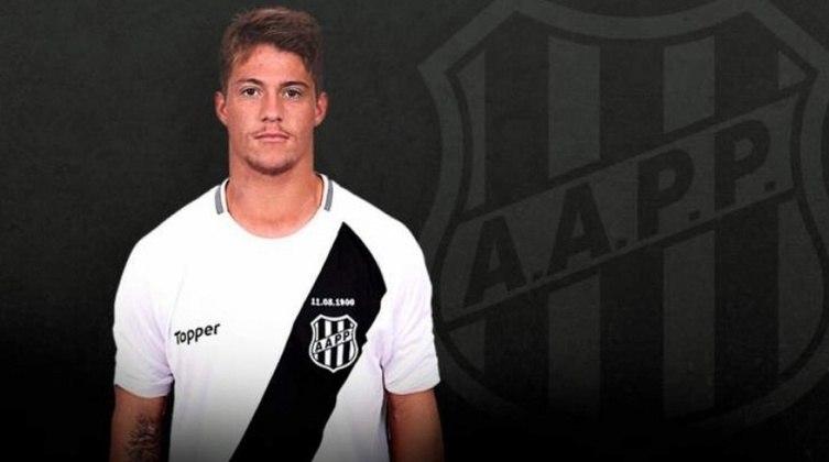 O atacante Guilherme Pato, destaque da equipe na Copinha, foi emprestado a Ponte Preta até janeiro do ano que vem. Seu contrato com o Inter termina em 2022.