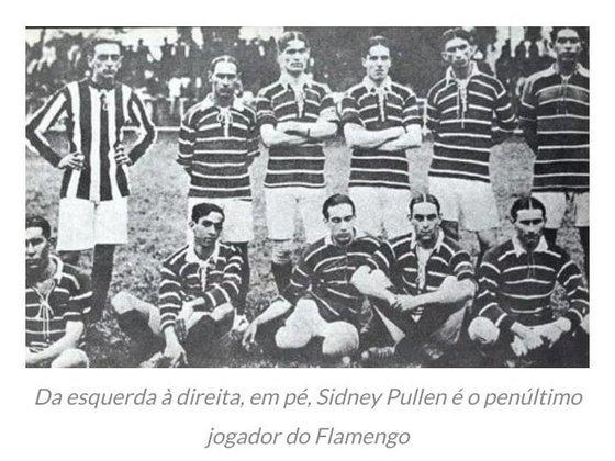 O atacante inglês foi o primeiro estrangeiro da história do Flamengo e atuou em 131 jogos entre 1915 e 1923.