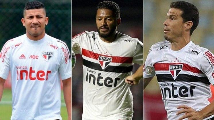 O atacante Joao Rojas tem futuro indefinido no São Paulo, que ainda não sabe se renovará com o jogador, que tem seu vínculo se encerrando no final de fevereiro deste ano. Com isso, o LANCE! mostra outros jogadores com contrato no São Paulo até o final desse ano.
