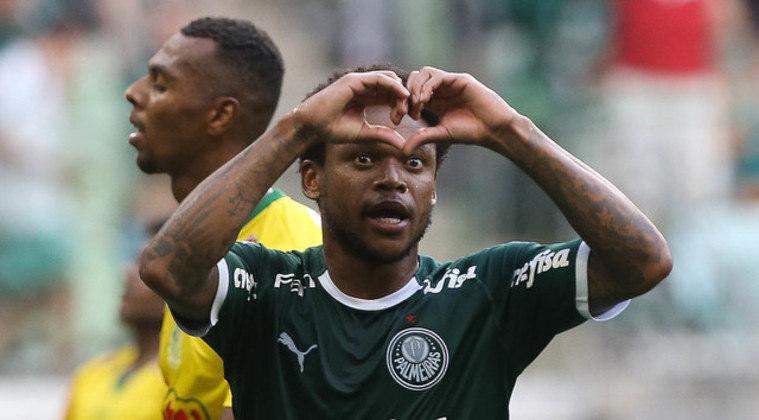 O atacante Luiz Adriano foi utilizado por 777 minutos.