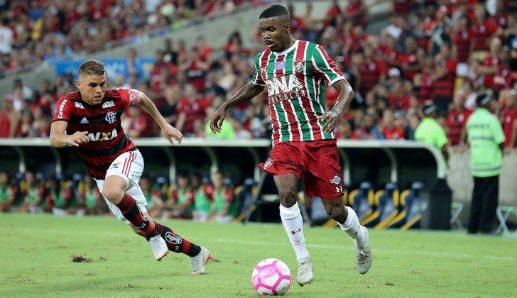 O atacante Matheus Alessandro deixou o Fluminense com o fim da temporada de 2020
