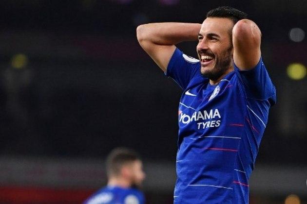 O atacante Pedro permaneceu até 2015 no Barcelona e depois se transferiu para o Chelsea, seu atual clube.