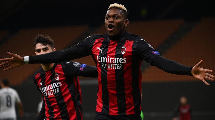 O atacante Rafael Leão, de 21 anos, esbanja talento no clube italiano. Tem tudo para ser um dos nomes falados na Europa nos próximos anos.