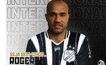 O atacante Roger, ex-Corinthians, São Paulo, Ponte Preta, ente outros, tem 36 anos e contrato com a Inter de Limeira até maio de 2021.
