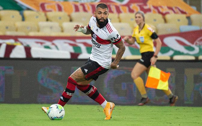 O atacante também vai bem no tradicional Fla-Flu: já castigou o Fluminense quatro vezes.