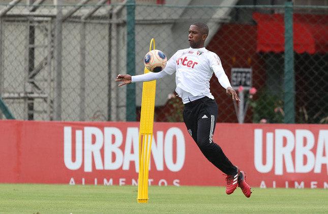 O atacante Toró foi artilheiro da Copinha de 2018, com seis gols. Teve chances na equipe principal com Cuca, e hoje está no banco com Fernando Diniz.