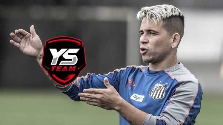 O atacante venezuelano Yeferson Soteldo também entrou no mundo dos games com a YS Team, equipe profissional de Fortnite.