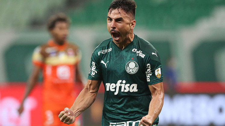 O atacante Willian tem contrato com o Palmeiras até dezembro de 2021.