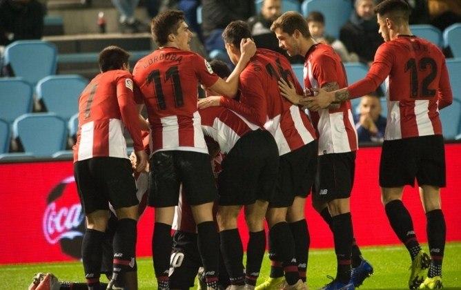 O Athletic Bilbao está na fila há 37 anos.  O último título espanhol do clube foi na temporada de 1983/1984.