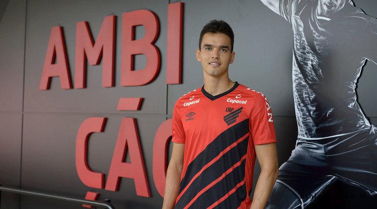 O Athletico-PR utilizou três estrangeiros no Brasileirão: Felipe Aguilar (colombiano), Lucho González (argentino) e Jaime Alvarado (colombiano)