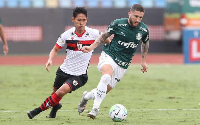 O Atlético-GO sofreu três goleadas por 3 a 0 no ano: diante do Internacional (em agosto), depois São Paulo e Palmeiras (em outubro)