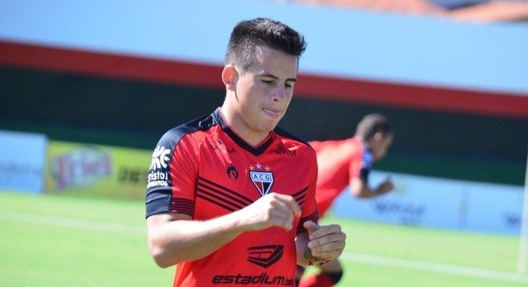 O Atlético Goianiense utilizou um estrangeiro no Brasileirão: Henry Vaca (boliviano)