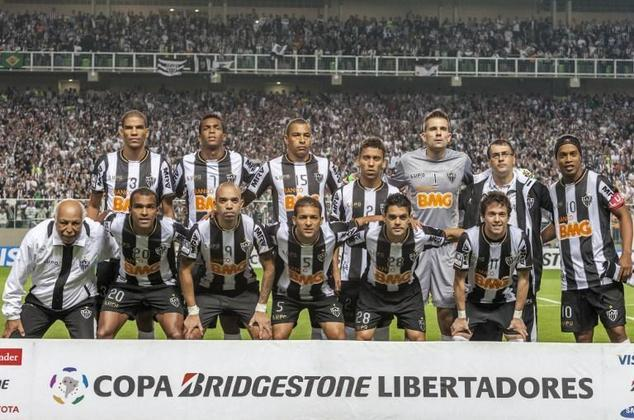 O Atlético-MG nunca havia conquistado a Libertadores da América