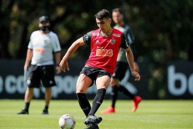 O Atlético-MG utilizou três estrangeiros no Brasileirão: Júnior Alonso (paraguaio), Alan Franco (equatoriano) e Jefferson Savarino (venezuelano)