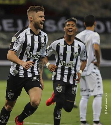 O Atlético Mineiro é o líder do returno com 14 pontos somados em 18 possíveis. O time de Sampaoli soma quatro vitórias e dois empates, indicando alta no campeonato novamente.